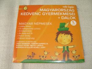 Magyarorszag Kedvenc Germekmesei + Dalok, 1. Resz / Hungarian Children Tales and Songs, Part 1 [Audio CD]