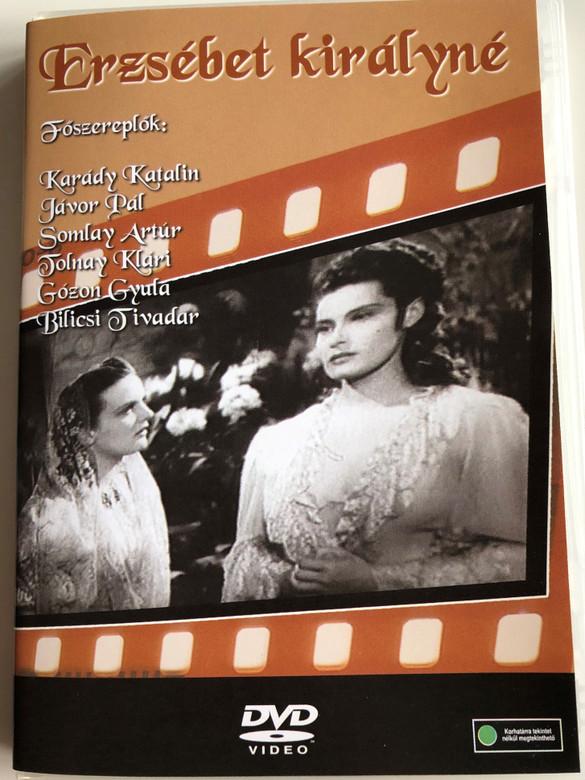 Erzsébet Királyné DVD 1940 – Régi Magyar Filmek / Black & White [DVD Region 2 PAL] / Hungarian Classic B&W movie (5996051280179)
