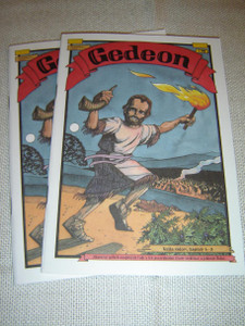 Gedeon – Kniha sudcov, kapitoly 6–8 / Gideon – Slovak Language Bible Comic Booklet for Children