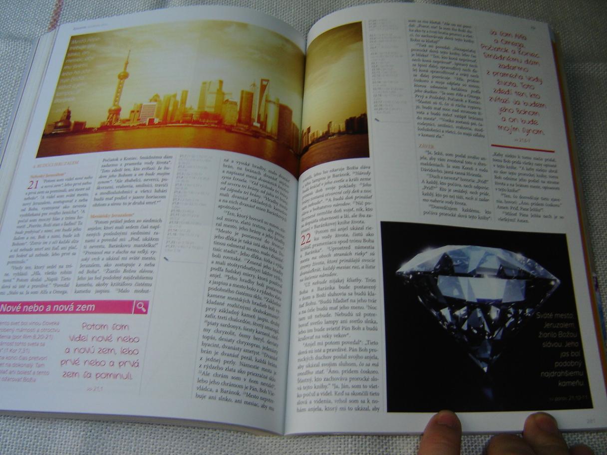Slovak New Testament – Magazine Format / 1SLOVO Biblia Novy Zakon –  Jeruzalemska Biblia