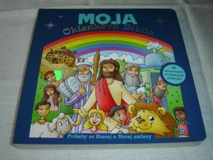 My Big Lift the Flap Bible, Slovak Edition Children Bible / Moja Okienková Biblia: Pribehy zo Starej a Novej Zmluvy – 48 Zábavnych Otváracich Okienok