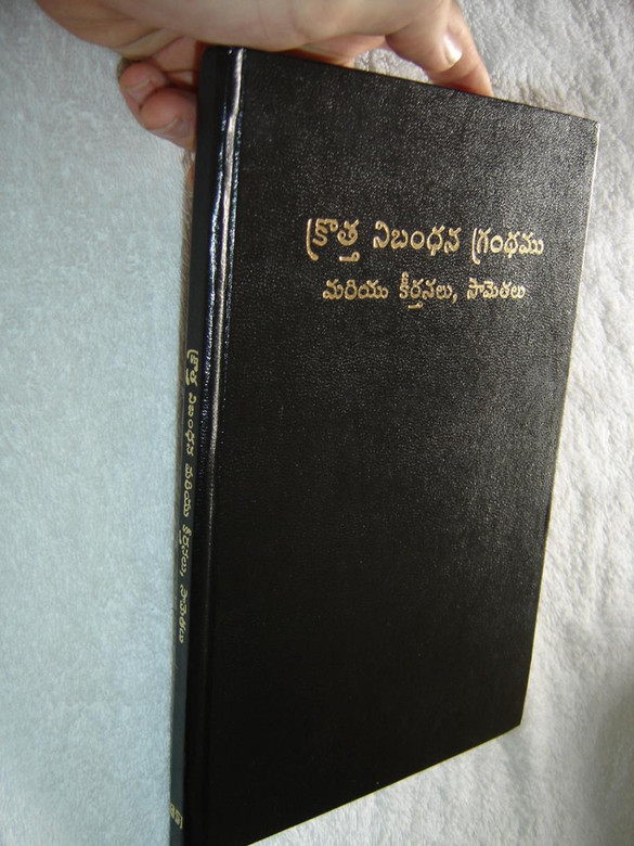 Large Size And Print Telugu Language New Testament With