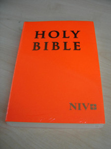 Neon Orange Paperback NIV Holy Bible – The Drama of the Bible