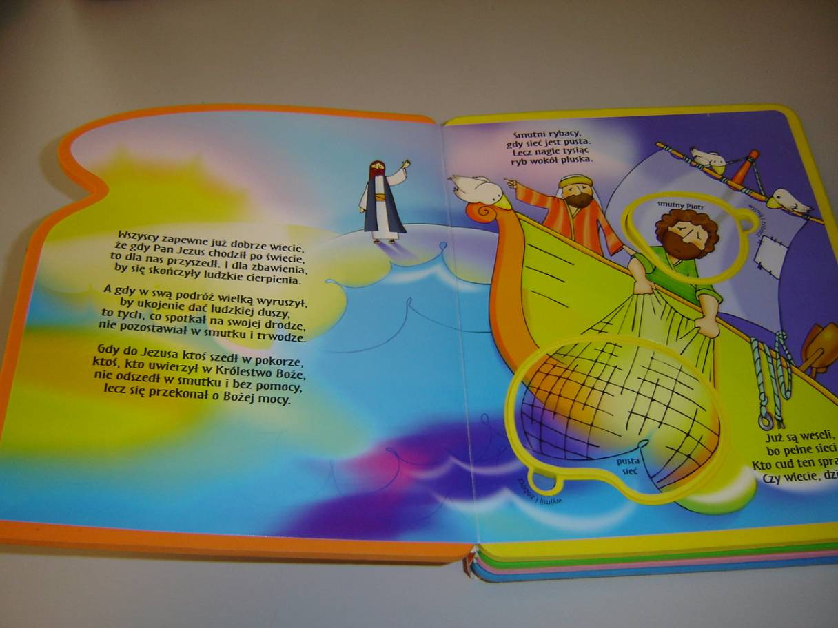 The Miracles Of Jesus Polish Language Childrens Bible With