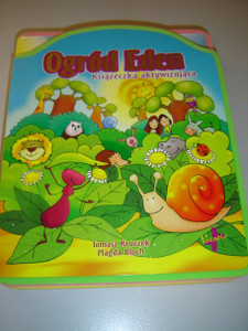 The Garden of Eden / Polish Language Children's Bible with Detachable Puzzles / For Children Age 3+ / Ogrod Eden : Ksiazeczka aktywizujaca
