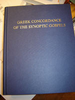 A Comparative Greek Concordance of the Synoptic Gospels