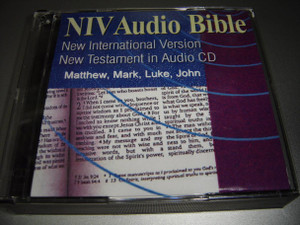 NIV Audio Bible / New International Version New Testament in Audio CD / Gospel of Matthew, Mark, Luke and John / 6 CDs