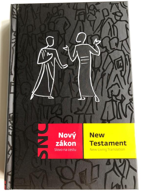 Czech-English Bilingual New Testament / Nový Zákon – New Testament / Slovo na cestu – New Living Translation NLT / Česká biblicka společnost 2016 (9788075450258)