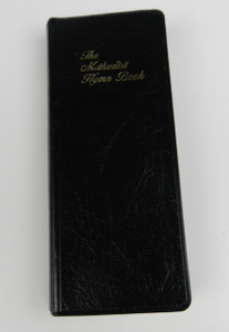 The Methodist Hymn Book, Slim Black Leatherette / About 5 by 2 Inches / Contains More than 900 Hymns