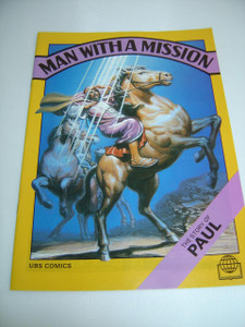 Man with a Mission – The Story of Paul, English Language / Bible Society Comics