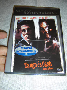 Tango & Cash / Tango es Cash (Uncut) / ENGLISH and Hungarian Sound and Subtitles [European DVD Region 2 PAL]