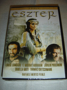 Esther – The Bible (1999) / Eszter – A Biblia / ENGLISH and Hungarian Sound Options / Hungarian Subtitles [European DVD Region 2 PAL]