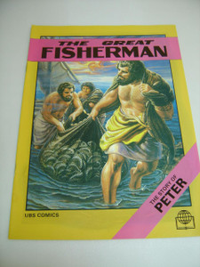 The Great Fisherman – The Story of Peter, English Language / Bible Society Comics
