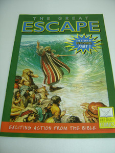 The Great Escape – The Story of Moses (Part 1) English Language / Bible Society Comics