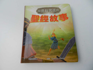 給勇敢男孩的聖經故事 / Bible Stories for Brave Boys, Ages 7 to 13 – Chinese Language, Traditional Script / About 8 by 6.5 Inches