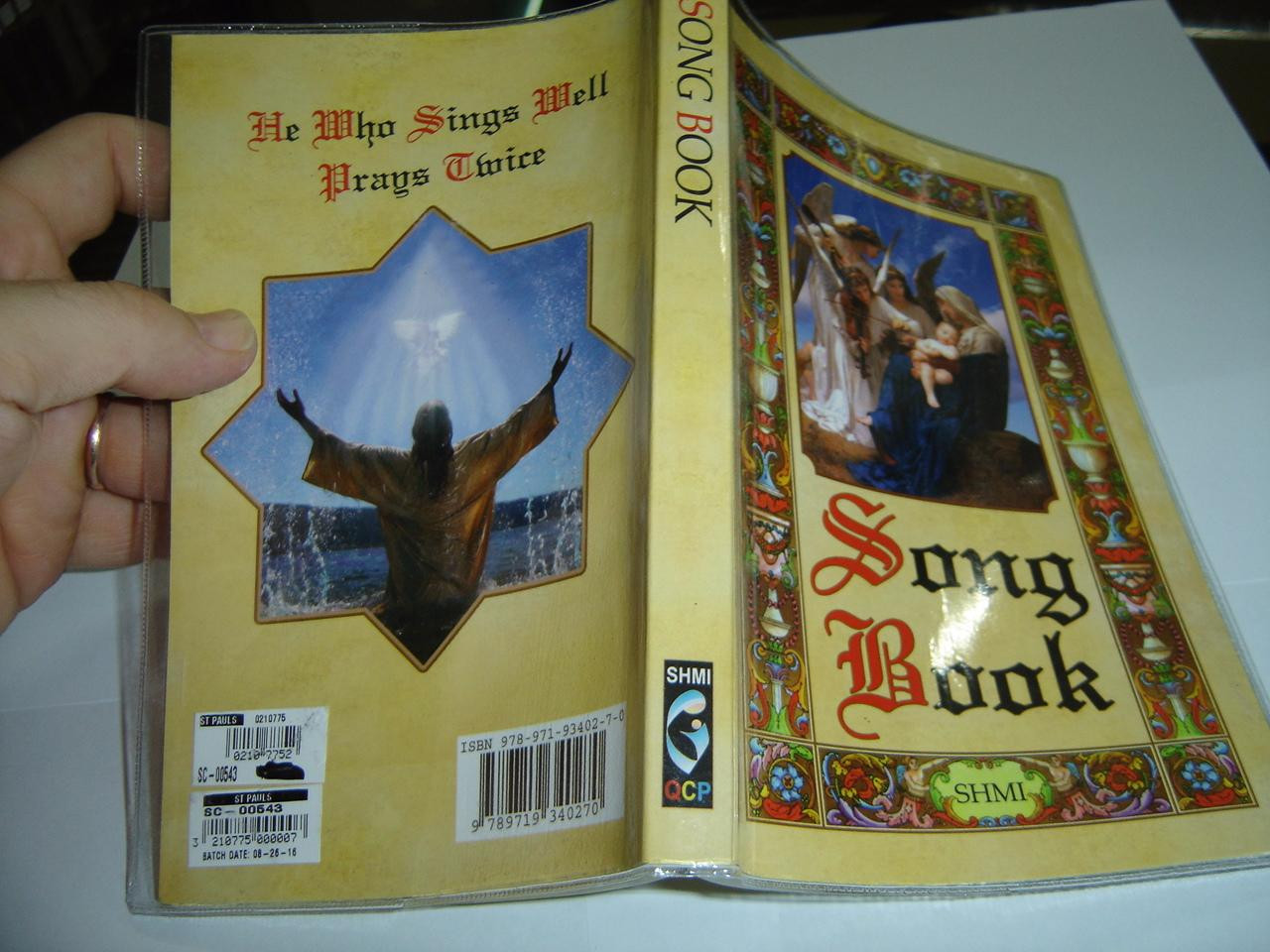 Song Book – Shmi / For Philippine Catholics / Entrance, Kyrie, Gloria,  Alleluia, Sanctus, Offertory, Acclamation, Amen, Pater, Doxology, Agnus  Dei,