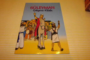 Suleyman Calisma Kitabi / Turkish Children Sunday School Bible Activity Book / Coloring, Crossword and Fill-in-the-Blanks