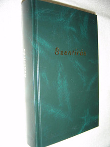 Szentírás – A Neovulgáta alapján / Hungarian Bible Old and New Testaments, Dark Green Hardcover /  by Szent Jeromos Katolikus Bibliatársulat / Catholic Magyar Biblia KNB Káldi-Neovulgáta Bibliafordítás