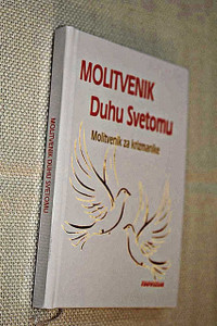 Croatian Language Prayer to the Holy Spirit: Prayer for Dear Candidates for Confirmation / Small White Hardcover with 1 Ribbon Bookmark / Molitvenik duhu Svetomu: Molitvenik za krizmanike