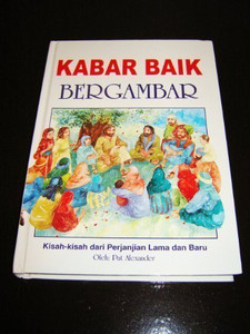 Indonesian The Children's Bible / Kisah Alkitab Untuk Anak / This is a Classic Very Popular Children's Full Color Illustrated Bible for Children in Indonesia