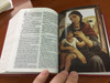 Spanish Christian Community Bible with Study Notes BURGUNDY