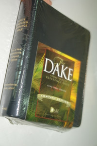 Dake's Annotated Reference Bible: King James Version, Compact Edition / Imitation Black Leather Binding