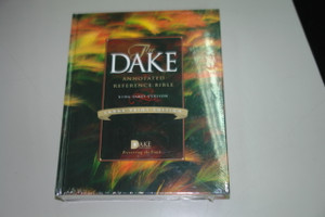 Huge Dake Annotated Reference Bible KJV Large Print LP1237 Full Color Hardcover
