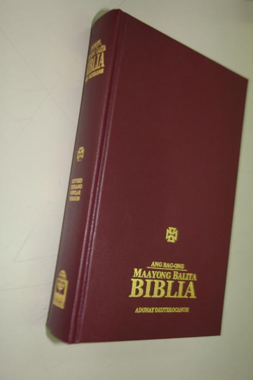 Cebuano Catholic Bible / Revised Cebuano Popular Version Translation / Ang Bag-ong Maayong Balita Biblia Adunay Deuterocanon / RCPV 053 DC