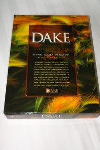 The Dake Annotated Reference Bible: King James Version  G6750R Black Leather Bound