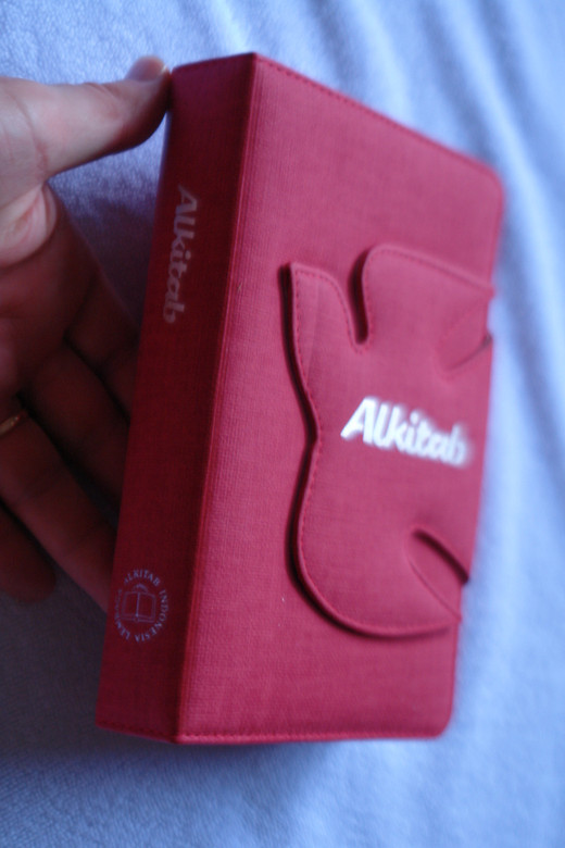 Alkitab Indonesian Bible / SPECIAL CLOTH HOLY SPIRIT COVER DESIGN