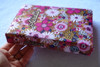 Alkitab Indonesian Bible with INDONESIAN SPECIAL CLOTH PINKS FLOWERS