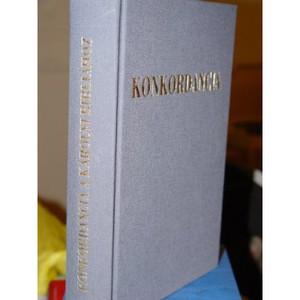 Hungarian Konkordancia Magyar Karoli Gaspar Bibliahoz [Hardcover] by Dobner