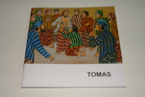 Indonesian – English Bilingual Children's Bible Story Booklet / Tomas – The Story of Thomas Jesus's Disciple