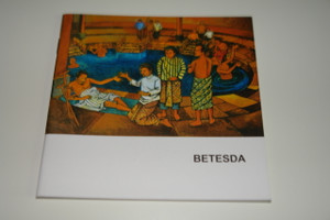 Indonesian – English Bilingual Children's Bible Story Booklet / Betesda – Jesus heals the Paralytic at the pool of Bethesda