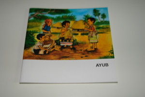 Indonesian – English Bilingual Children's Bible Story Booklet / Ayub – Job