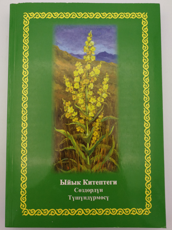 Kyrgyz language Bible Dictionary by Haus Frederik / Hardcover 2014 / Фридрик Хаус - (9789967456389)