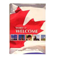 ESL BIBLE / CEV  WORD OF WELCOME BIBLE  from Canada / Designed and used in ESL Classrooms  / English as a second language (ESL)