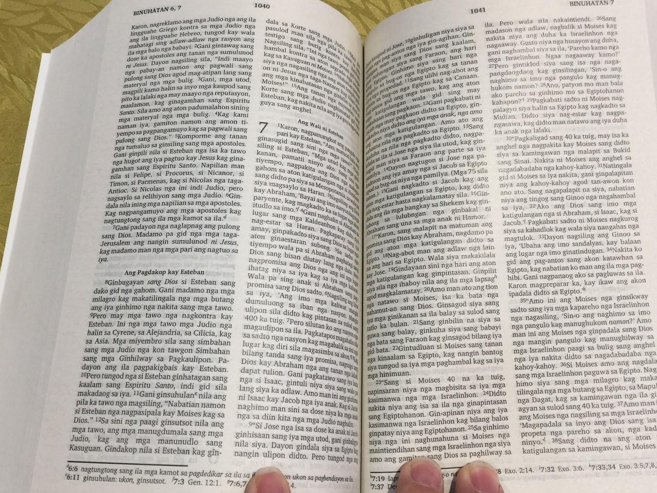 Hiligaynon Language Bible Modern Today's Translation / Ang Pulong Sang Dios  Biblia / New Contemporary Translation / Biblia sa pulong nga Hiligaynon