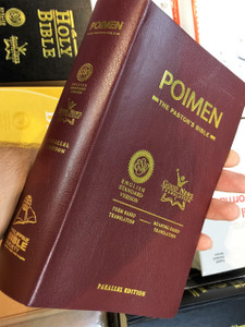 Poimen: The Pastor's Bible / ESV – GNT Parallel Edition / English Standard Version – Good News Translation / The Shepherd's Bible