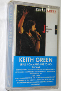 Jesus Commands Us to Go / Keith Green / Original recording, Dolby / RETRO AUDIO CASSETTE