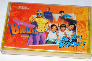 The Bibleman Show: Big Big Book! / The FIRST SHOW from that started it all in 1995 SOUNDTRACK on Audio Cassette