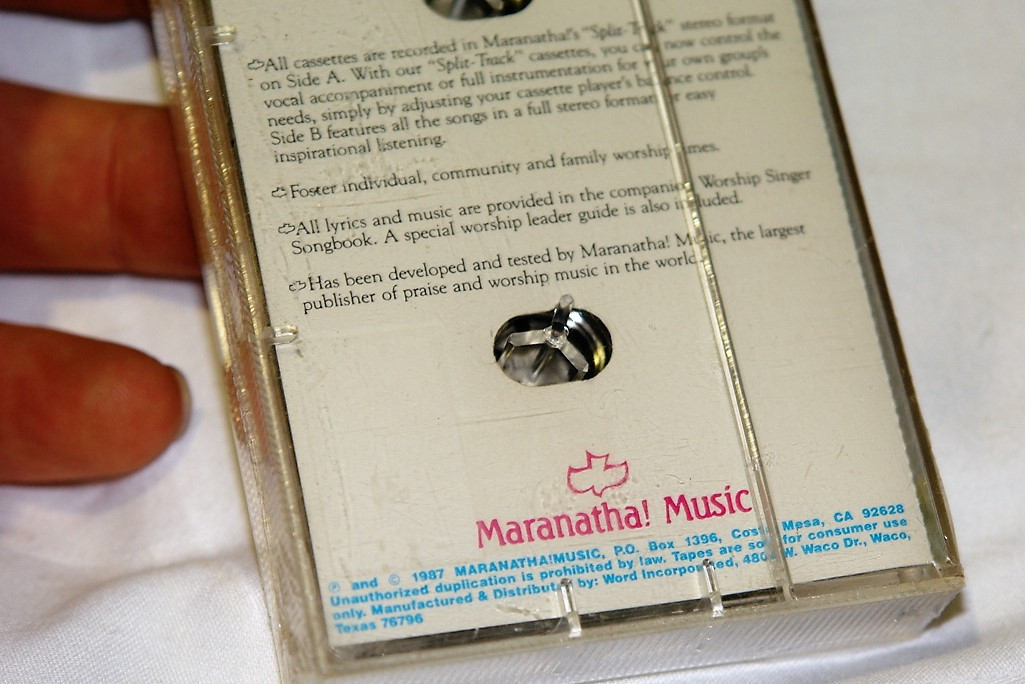 Worship Singer 4 This Is The Day / Maranatha! Music Presents 1987 /  Companion Cassette To Songbook #310001474X / All Lyrics Included / He Has  Made Me