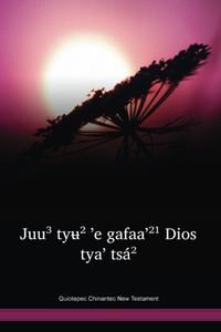 Quiotepec Chinantec New Testament / Júu³ tyʉ́² ꞌe gafaaꞌ²¹ Dios tyaꞌ tsá² (CHQBLI) / Mexico