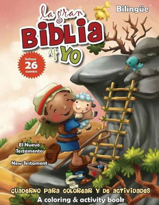 Nuevo Testamento - Cuaderno para colorear y de actividades - Bilingüe: New Testament Coloring and Activity Book - Bilingual (La gran Biblia y yo) (Spanish Edition)  Paper Back   Agnes de Bezenac