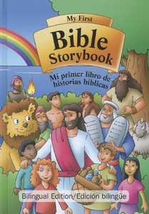 My First Bible Storybook / Mi Primer Libro de Historias Biblicas (Spanish Edition) Hard Cover Jacob Kramer