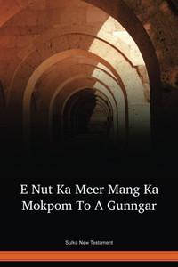 Sulka Language New Testament / E Nut Ka Meer Mang Ka Mokpom To A Gunngar (SUANT) / New Britain