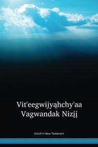 Gwich'in Language New Testament / Vit'eegwijyąhchy'aa Vagwandak Nizįį (GWINT) / Canada, United States