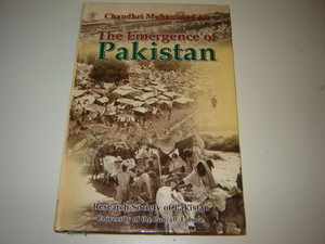 Emergence of Pakistan by Ali, Chaudri M.