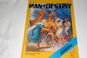 The Story of Joseph / United Bible Society Comics / The Dreamer Man of Destiny / Heroes of the Faith UBS Bible Comics Series For Children / Full Color