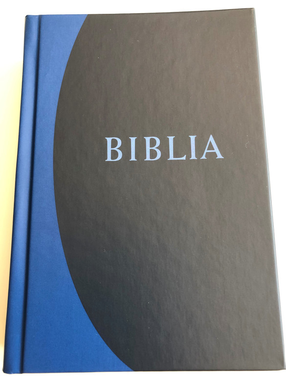 Biblia - Istennek az Ószövetségben és Újszövetségben adott kijelentése (RÚF 2014) / Hungarian language Bible Revised translation (2014) / Hardcover / Color maps, Section titles / Kálvin kiadó 2018 / Blue-Black Small size (B/6) (978-9635582419)